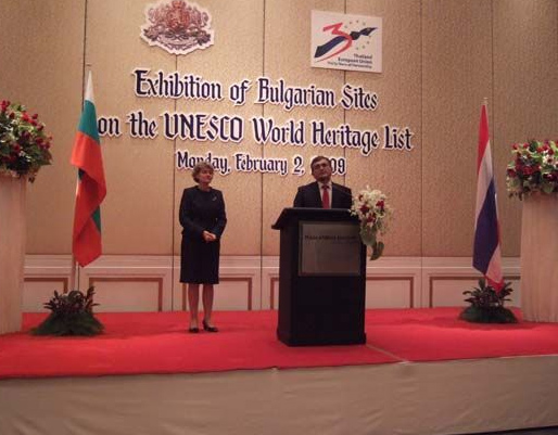 Bulgarian Monuments under UNESCO Protection Presented in Bangkok
