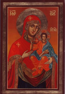Madonna and Child by Mirchev, Todor