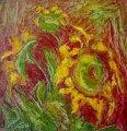 Люба Захова - Три слънчогледа