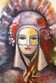 Мария  Христова - Жена с домино