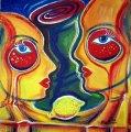 "Maria Dimitrova - ""Vase & lemon"""